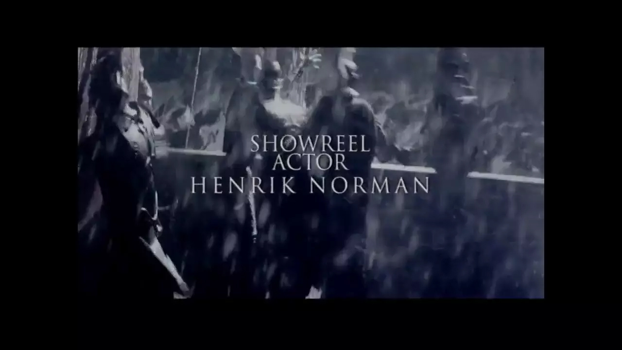 Showreel Henrik Norman English