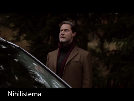 Actor Henrik Norman in the short The Nihilists by Johannes Persson