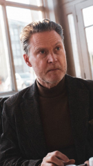 Portrait actor Henrik Norman, London 2019