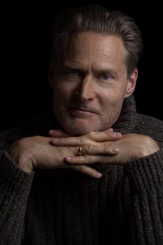 Portrait actor Henrik Norman