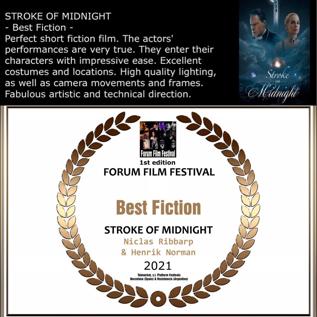 Best Fiction Stroke of Midnight with review