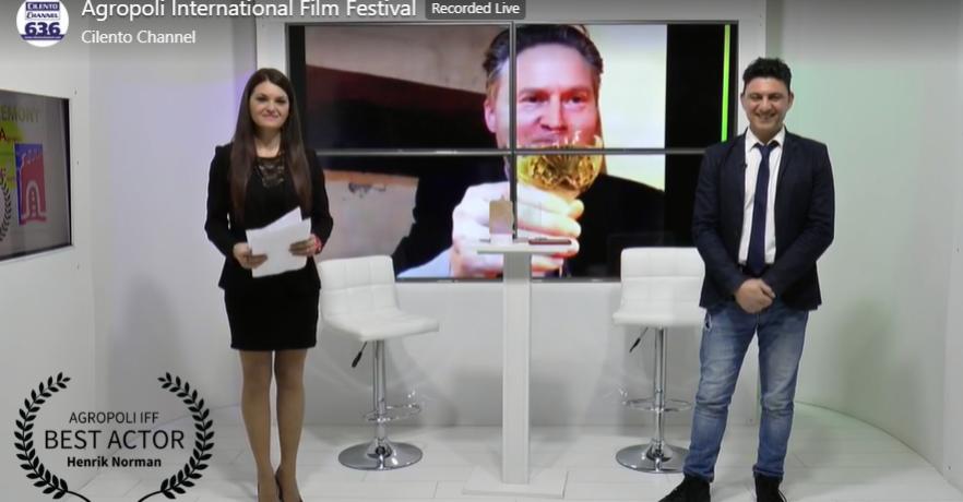 Vinnare Best Actor Agropoli IFF 2021